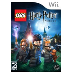 Jogo Lego Harry Potter Years 1-4 Wii Warner Bros