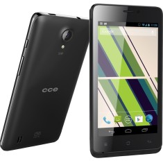 Smartphone CCE Motion Plus TV SC452 4GB 5,0 MP 2 Chips Android 4.2 (Jelly Bean Plus) Wi-Fi 3G