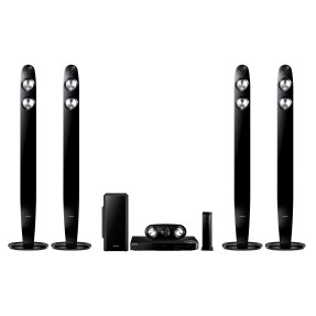 Home Theater Samsung com Blu-Ray 3D 1.000 W 5.1 Canais 2 HDMI HT-F6550W/ZD