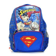 Mochila Escolar Luxcel Superman IS31261SM