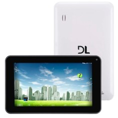 "Tablet DL Eletrônicos 4GB LCD 7"" Android 4.4 (Kit Kat) Eagle Plus"