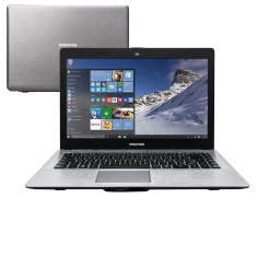 "Notebook Positivo Stilo Intel Pentium N3540 4GB de RAM HD 500 GB 14"" Windows 10 Home XR5550"