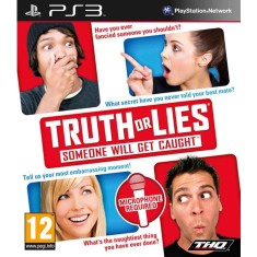Jogo Truth or Lies: Someone Will Get Caught PlayStation 3 THQ
