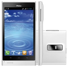Smartphone Philco 4GB 500 8,0 MP 2 Chips Android 4.0 (Ice Cream Sandwich) Wi-Fi 3G