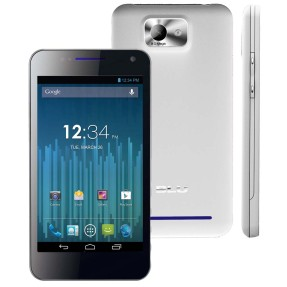Smartphone Blu 4GB Vivo 4.3 D910i 8,0 MP 2 Chips Android 4.0 (Ice Cream Sandwich) 3G Wi-Fi