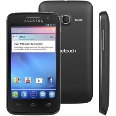 Smartphone Alcatel 4GB M'Pop 5,0 MP 2 Chips Android 4.1 (Jelly Bean) 3G Wi-Fi