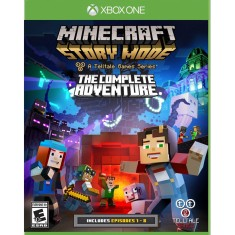 Jogo Minecraft Story Mode Complete Adventure 1-8 Xbox One Telltale