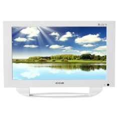 "TV LED 14"" CCE LN14G USB LAN (Rede)"