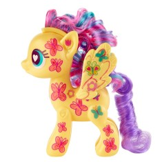 Boneca My Little Pony Fluttershy Kit Desenhe o Ponei Pop Hasbro