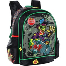 Mochila Escolar Luxcel Zombie Gang IS30721ZG G