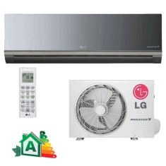 Ar Condicionado Split Hi Wall LG Libero Art Cool 22000 BTUs Inverter Controle Remoto Frio AS-Q242CRG2