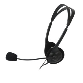 Headset com Microfone C3 Tech CT 662040 BK