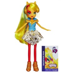 Boneca My Little Pony Equestria Girl Hasbro Rainbow Rock Applejack A7530 Hasbro