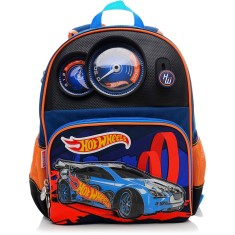 Mochila Escolar Sestini Hot Wheels 15Z M
