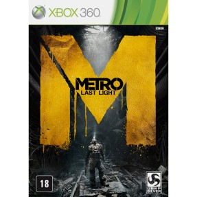 Jogo Metro: Last Light Limited Edition Xbox 360 THQ