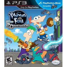 Jogo Phineas e Ferb: Across the Second Dimension PlayStation 3 Disney