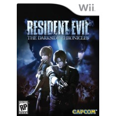 Jogo Resident Evil: The Dark Side Chronicles Wii Capcom