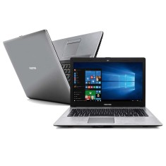 "Notebook Positivo Stilo Intel Celeron N2808 2GB de RAM SSD 32 GB 14"" Windows 10 Home XR3501"