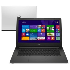 "Notebook Dell Inspiron Intel Core i5 5200U 5ª Geração 8GB de RAM HD 1 TB 14"" GeForce 920M Windows 8.1 I14-5458-A40"