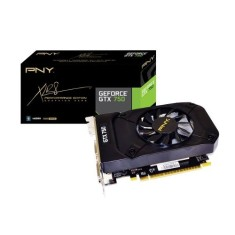 Placa de Video NVIDIA GeForce GTX 750 1 GB GDDR5 128 Bits PNY VCGGTX7501XPB
