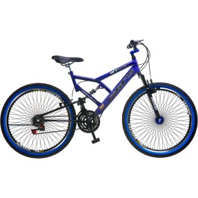 Bicicleta Mountain Bike Colli Bikes 18 Marchas Aro 26 Suspensão Full Suspension Freio V-Brake Full-S GPS 156
