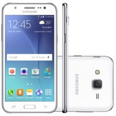 Smartphone Samsung Galaxy J5 16GB J500MDS 13,0 MP 2 Chips Android 5.1 (Lollipop) 3G 4G Wi-Fi
