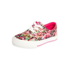 Tênis Converse All Star Infantil (Menina) Casual Skidgrip CVO Streaming Colors Ox