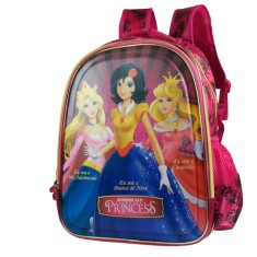 Mochila Escolar Luxcel Princess Branca De Neve IS31361PR