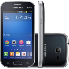 Smartphone Samsung Galaxy Trend Lite Duos S7392 3,0 MP 2 Chips 4GB Android 4.1 (Jelly Bean) 3G Wi-Fi