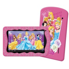"Tablet Tectoy Princesas 8GB LCD 7"" Android 4.4 (Kit Kat) 2 MP TT-4300"