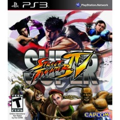 Jogo Super Street Fighter IV PlayStation 3 Capcom