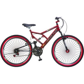Bicicleta Colli Bikes 18 Marchas Aro 26 Suspensão Full Suspension Full-S GPS 72 Raias
