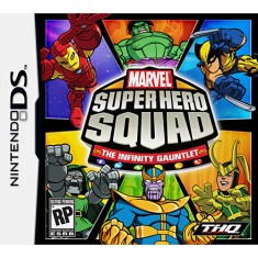 Jogo Marvel Super Hero Squad The Infinity Gauntlet THQ Nintendo DS