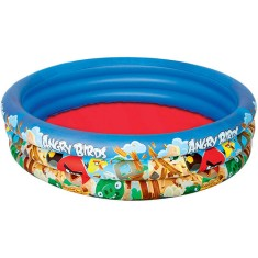 Piscina Inflável 282 l Redonda Bestway Angry Birds 96108