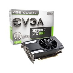 Placa de Video NVIDIA GeForce GTX 960 4 GB GDDR5 128 Bits EVGA 04G-P4-1961-KR