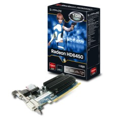 Placa de Video ATI Radeon HD 6450 1 GB DDR3 64 Bits Sapphire 11190-02-20G