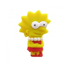 Pen Drive Importado 8 GB USB 2.0 Lisa Simpson