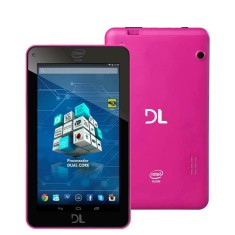 "Tablet DL Eletrônicos 8GB TFT 7"" Android 4.4 (Kit Kat) X-Pro Dual"