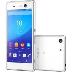 Smartphone Sony Xperia M5 16GB 21,5 MP 2 Chips Android 5.0 (Lollipop) 3G 4G Wi-Fi