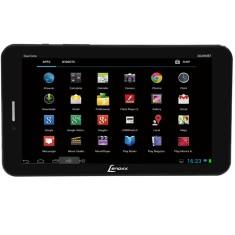 "Tablet Lenoxx Sound 3G 8GB LCD 7"" Android 4.4 (Kit Kat) 2 MP TB-3100"