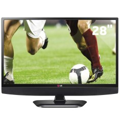 "TV LED 28"" LG 28LB600B 1 HDMI USB Frequência 60 Hz"