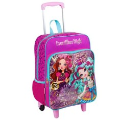 Mochila com Rodinhas Escolar Sestini Ever After High 16M Plus G