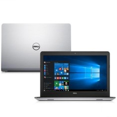 "Notebook Dell Inspiron 5000 Intel Core i7 5500U 5ª Geração 8GB de RAM HD 1 TB Híbrido SSD 8 GB 15,6"" Touchscreen Radeon HD R7 M265 Windows 10 i15 5548-C20"