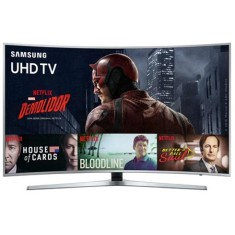 "Smart TV TV LED 55"" Samsung Série 6 4K HDR Netflix UN55KU6500 3 HDMI"