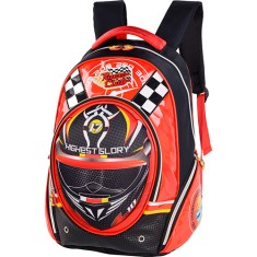 Mochila Escolar Luxcel Race Club IS31391RC