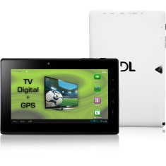 "Tablet DL Eletrônicos DroidTV 4GB LCD 7"" Android 4.0 (Ice Cream Sandwich) 2 MP DR-T71"