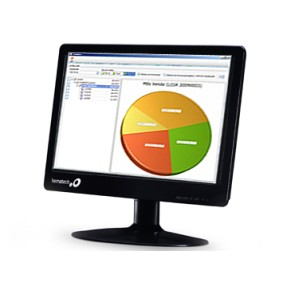 "Monitor LED 15,6 "" Bematech LM-15"