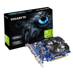 Placa de Video NVIDIA GeForce GT 420 2 GB DDR3 128 Bits Gigabyte GV-N420-2GI (rev. 3.0)