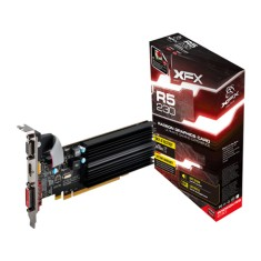Placa de Video ATI Radeon R5 230 1 GB DDR3 64 Bits XFX R5-230A-ZLH2