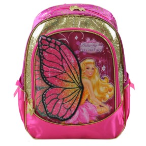 Mochila Escolar Sestini Barbie 19 Litros Barbie Butterfly 063085